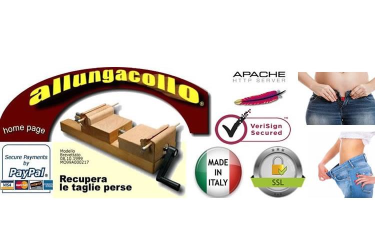Sito Ufficiale di Allungacollo ® Recupera le taglie di jeans pantaloni e colli camicie - BREVETTO N.MO99A000217